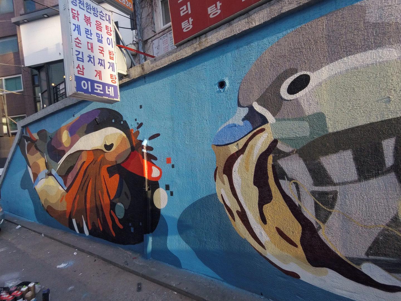 Hongdae Mandarin Ducks, Seoul